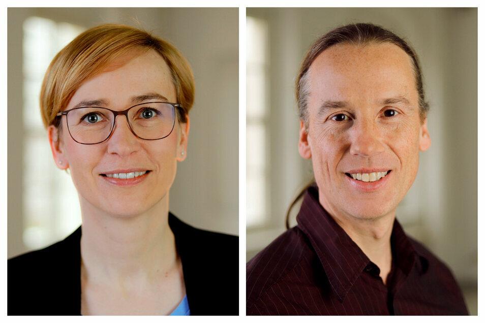Silke Geithner und Götz Schneiderat sind Wissenschaftler am Forschungszentrum der Evangelischen Hochschule Dresden.