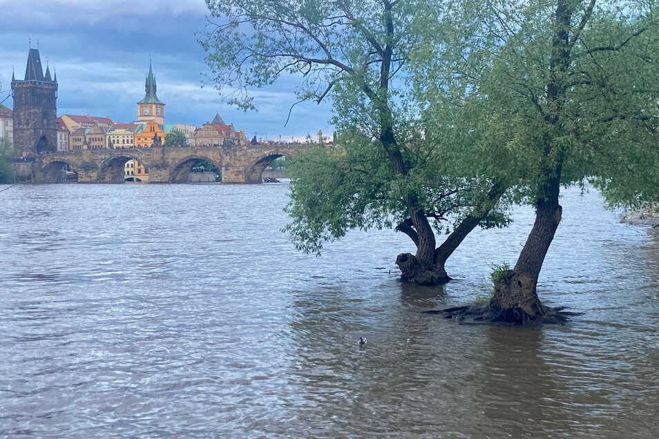 Die Moldau ist in Prag über die Ufer getreten. Kommt das alles zu uns?