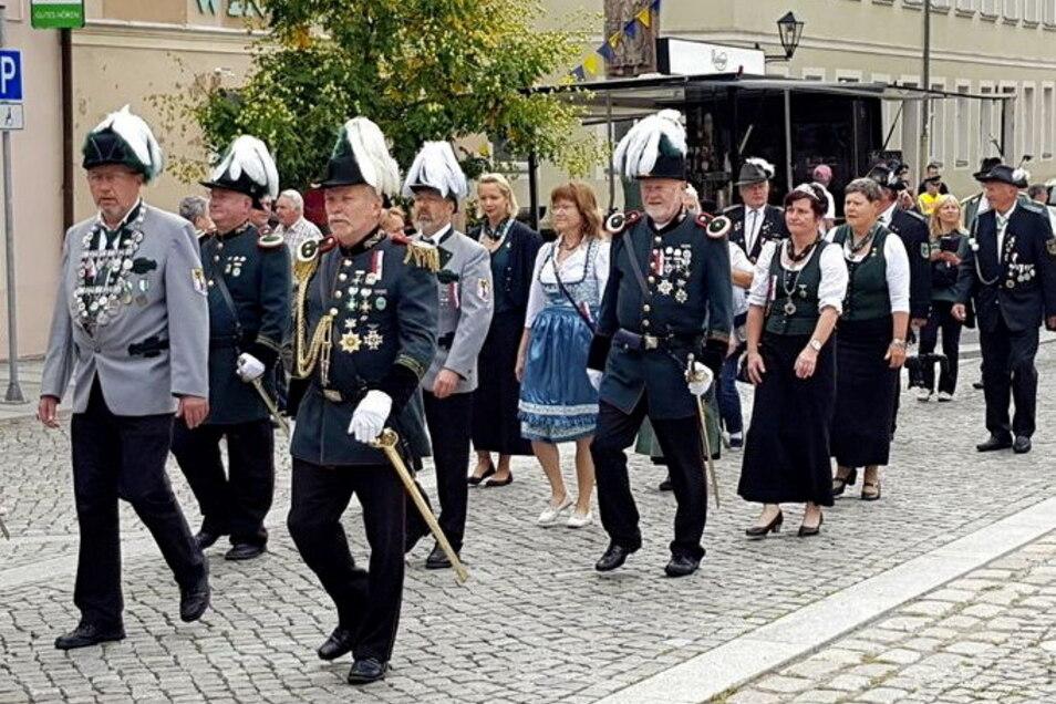 In Kamenz soll nach 2019 erneut ein Sächsischer Schützentag stattfinden.