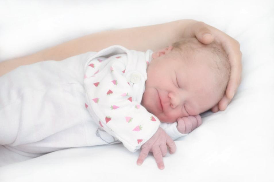Romy Geboren am 4. Juni Geburtsort Ebersbach-Neugersdorf Gewicht 3.450 Gramm Größe 49 Zentimeter Eltern Sarah und Swen Schneider Wohnort Steinigtwolmsdorf