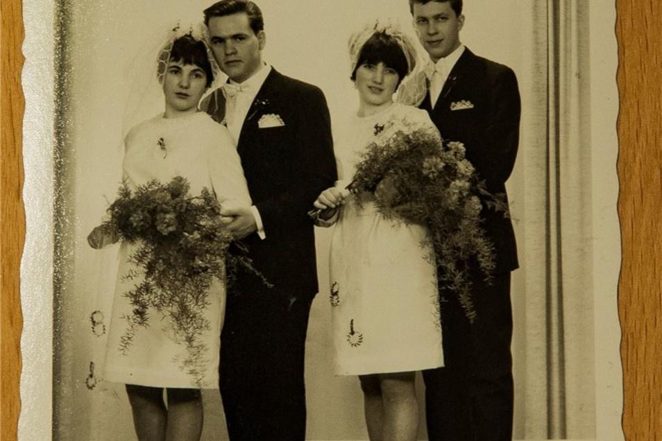 Ein Bild von der Hochzeit.