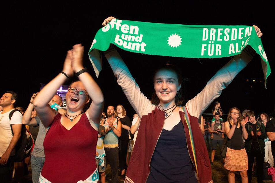 Bei der Unteilbar-Demo am 24. August setzten rund 40.000 Menschen in Dresden ein Zeichen für Solidarität, gegen Ausgrenzung und Rassismus.