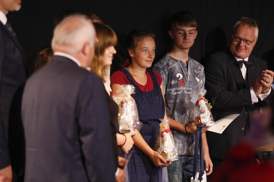 """Anlässlich des """"Tags des offenen Denkmals"""" verleiht Amtsleiter Thomas Rechentin darin auch wieder den Kinder- und Jugenddenkmalpreis."""