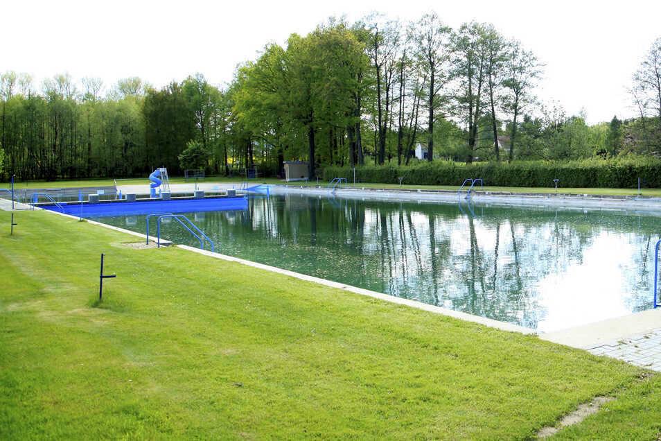 Das Volksbad in Oderwitz.