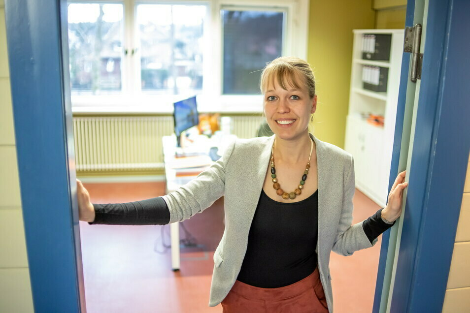 Hereinspaziert ins neue Büro im Nieskyer Wachsmannhaus. Von hier aus lenkt die gebürtige Hähnichenerin Sandra Scheel das Leader-Regionalmanagement für die östliche Oberlausitz.
