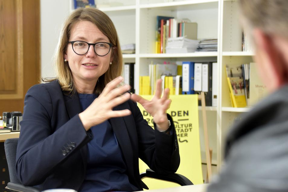 Kulturbürgermeisterin Annekatrin Klepsch will mehr Angebote in den Stadtteilen schaffen, sagt sie im SZ-Interview.