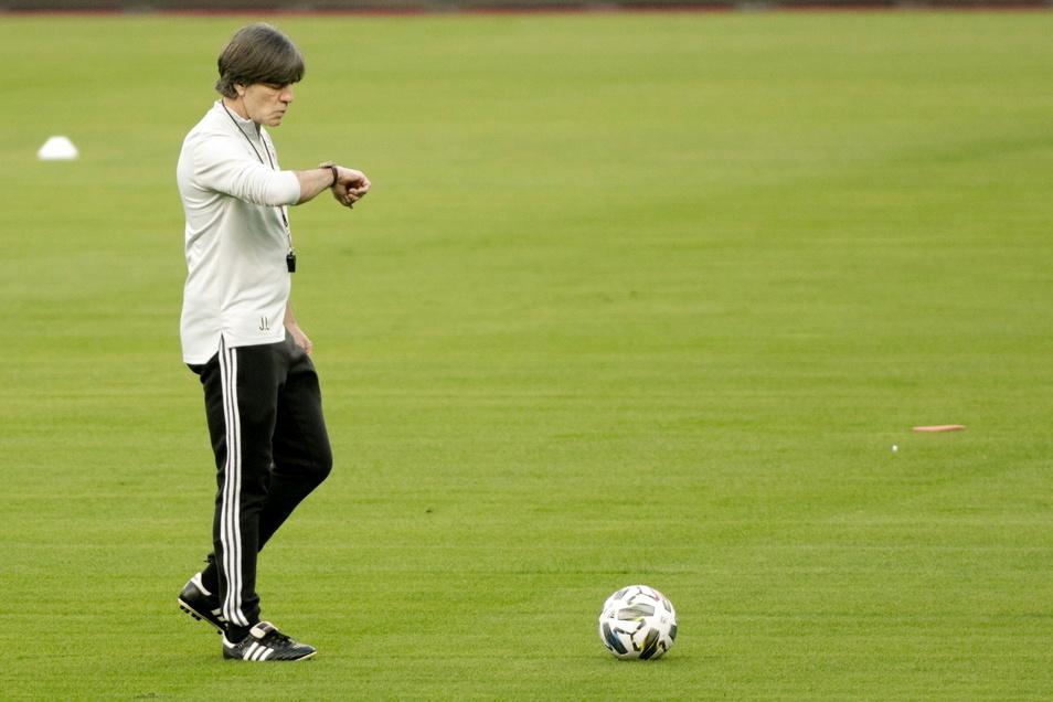 Bundestrainer Joachim Löw will aufhören.