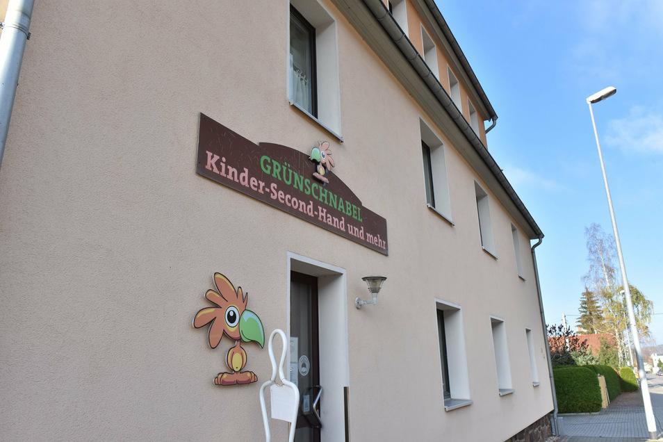 Das Grünschnabel-Geschäft für Kindersachen in Schmiedeberg bleibt weiterhin geöffnet.