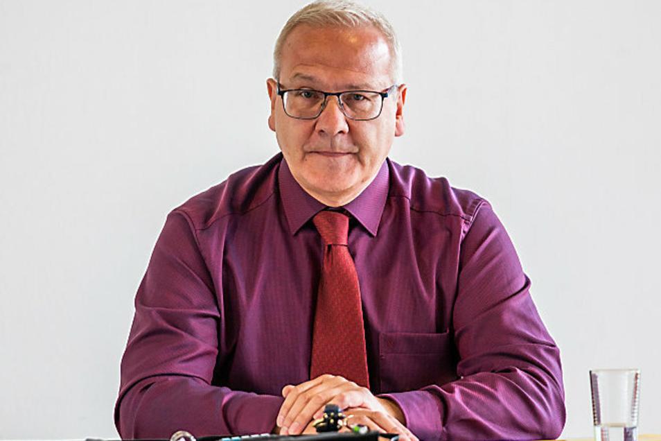 Oberbürgermeister von Hoyerswerda Torsten Ruban-Zeh