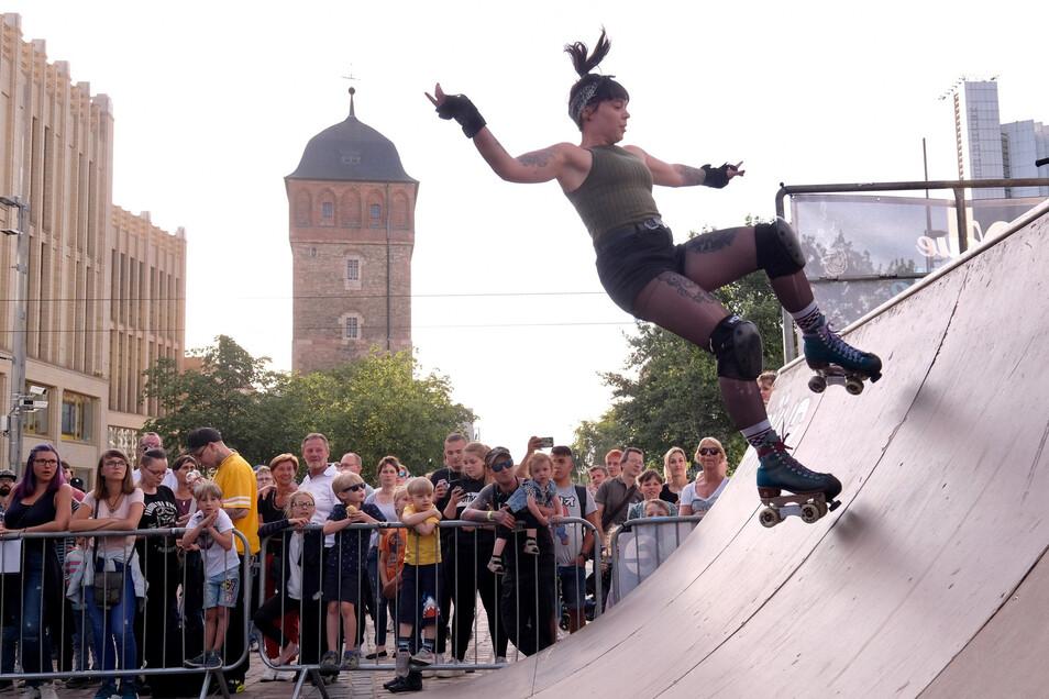 Skater zeigen ihr Können