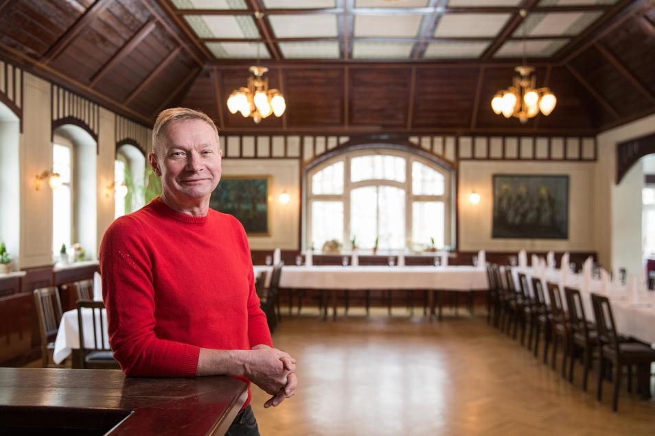 Volker Habrich hat am 1.2. das historische Fischhaus an der Fischhausstraße übernommen.