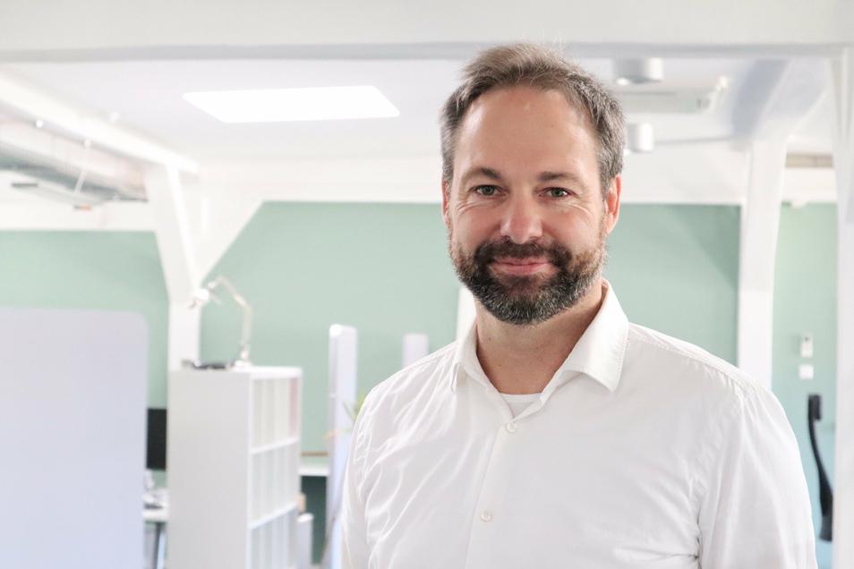 """""""Unser Ziel ist, bis 2030 eine Energieversorgung zu hundert Prozent mit erneuerbaren Energien zu erreichen"""": Kiwigrid-Mitgründer Casten Bether."""