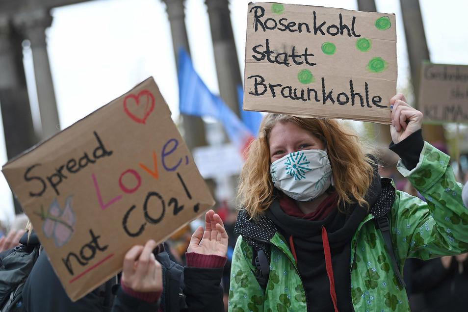 In Deutschland waren an diesem Freitag rund 450 Protestaktionen geplant.
