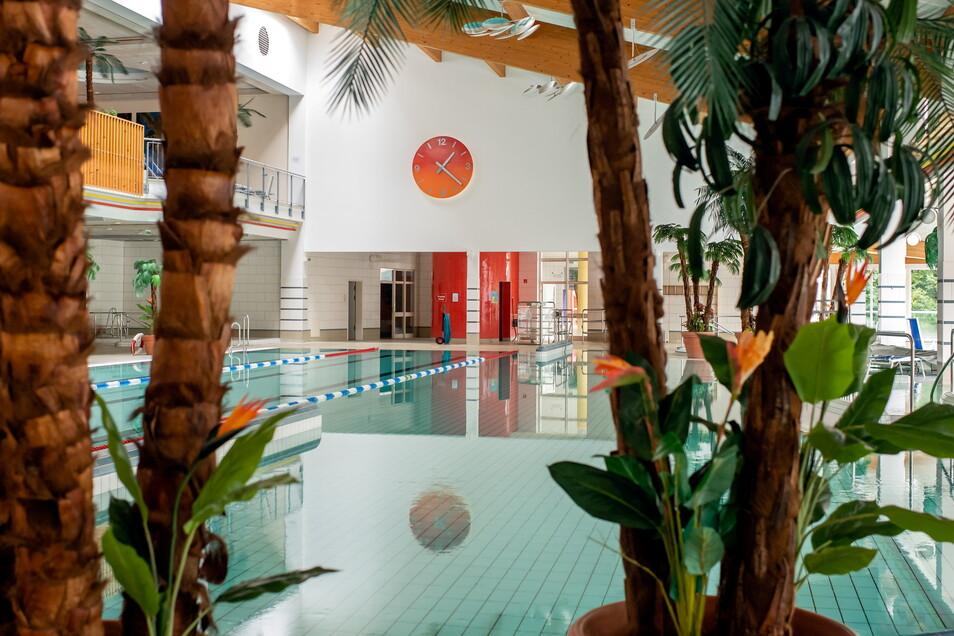 Seit 1. Oktober ist die Körse-Therme in Kirschau wieder für Besucher geöffnet. Doch um die Zukunft des Bades wird nach wie vor gerungen.