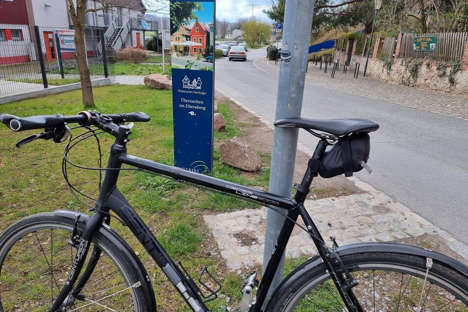 Rollt mit mir etwa 3.000 Kilometer im Jahr, mein Rad.