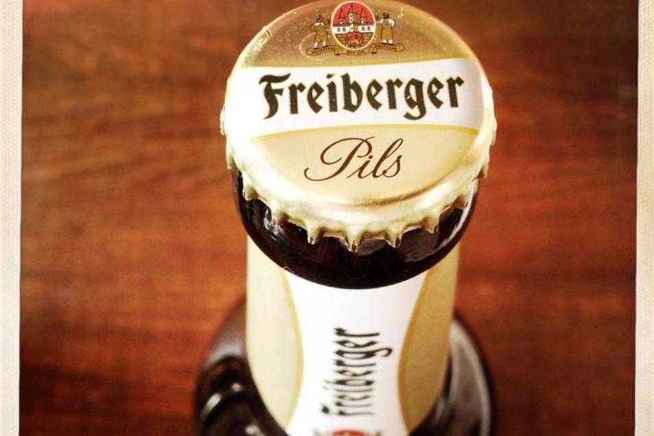 7. Platz: Freiberger Bier (91%) ist Oetkers Marke für die Region.