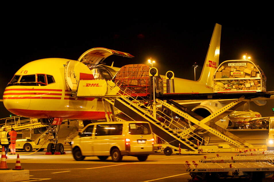Das Frachtgeschäft am Leipziger Flughafen wächst. DHL will ausbauen. Den Menschen in der Umgebung wird es aber langsam zu laut.