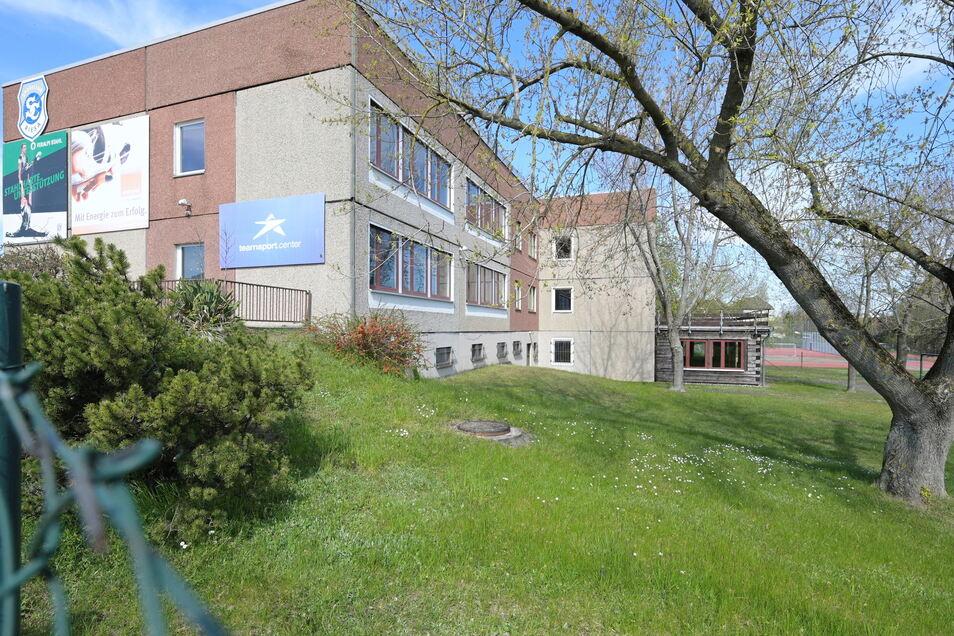 Blick auf die Rückseite des Gebäudes. Laut Friedhelm Preuß könnte es schon genügen, einen Teil des Hauses zu erhalten.