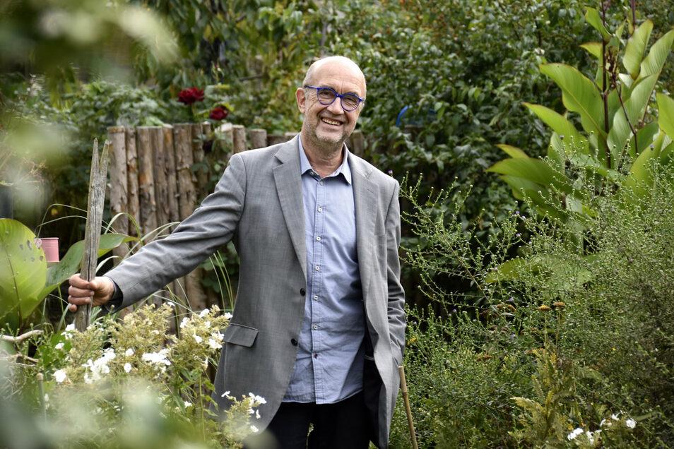 Martin Wallmann, der Direktor des Epilepsiezentrum Kleinwachau geht in den Ruhestand Foto: Marion Doering