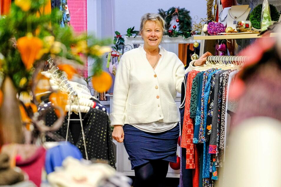 In die Boutique Zeitlos von Gabriele Kraft waren bereits seit Anfang November nur noch wenige Kunden gekommen. Sie hat daher schon selbst die Öffnungszeiten verkürzt.