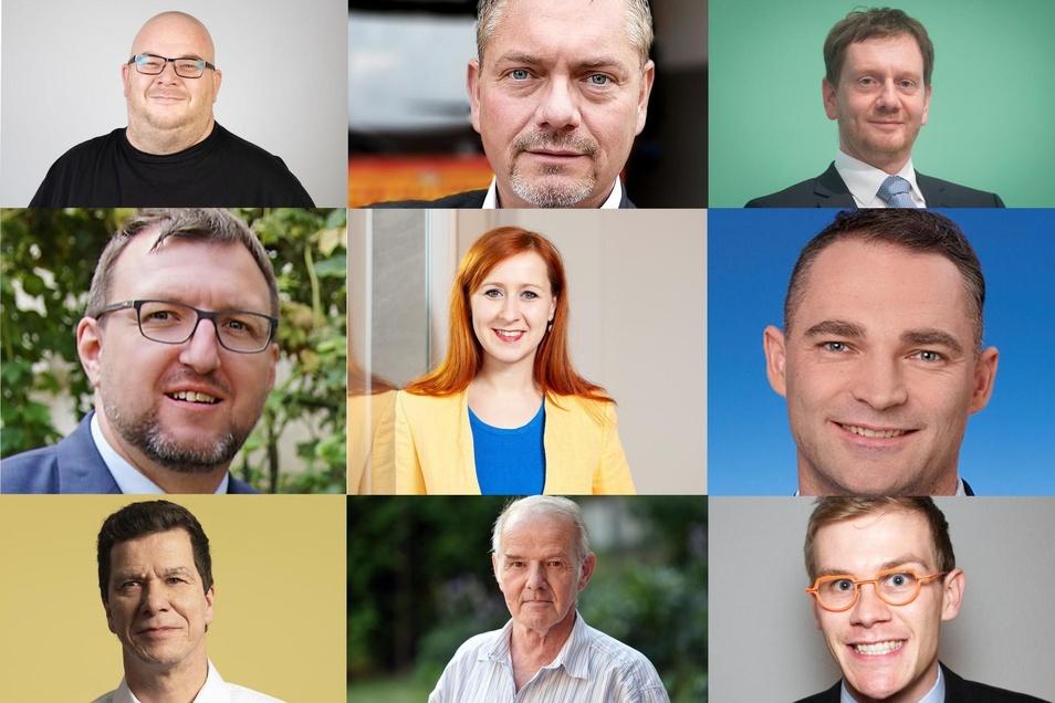 Die Landtagskandidaten aus dem Wahlkreis 58 auf einen Blick.