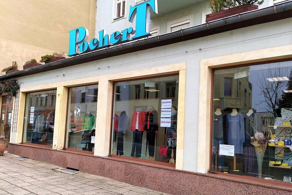 """Das Modehaus Pochert ist weiterhin nach dem Prinzip """"Call & Collect"""" für seine Kunden erreichbar."""