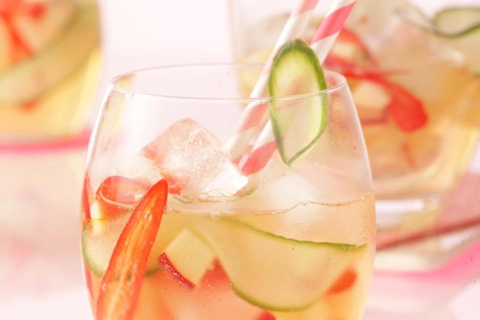 Wir wäre es denn mal mit einem Apfel-Gurken-Drink?