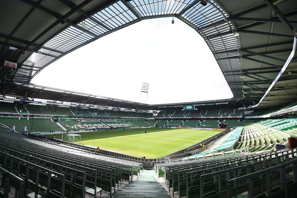 SV Werder Bremen | Weserstadion | Kapazität: 42.100 | Auslastung: 14.000 | Auslastung in Prozent: 33.