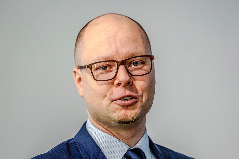 Dawid Statnik ist Vorsitzender der Domowina, des Bundes Lausitzer Sorben.