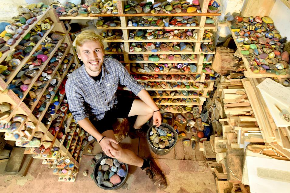 Johann Kral kennt jetzt jeden einzelnen Stein - und will sie zu einem neuen Ganzen zusammenfügen.