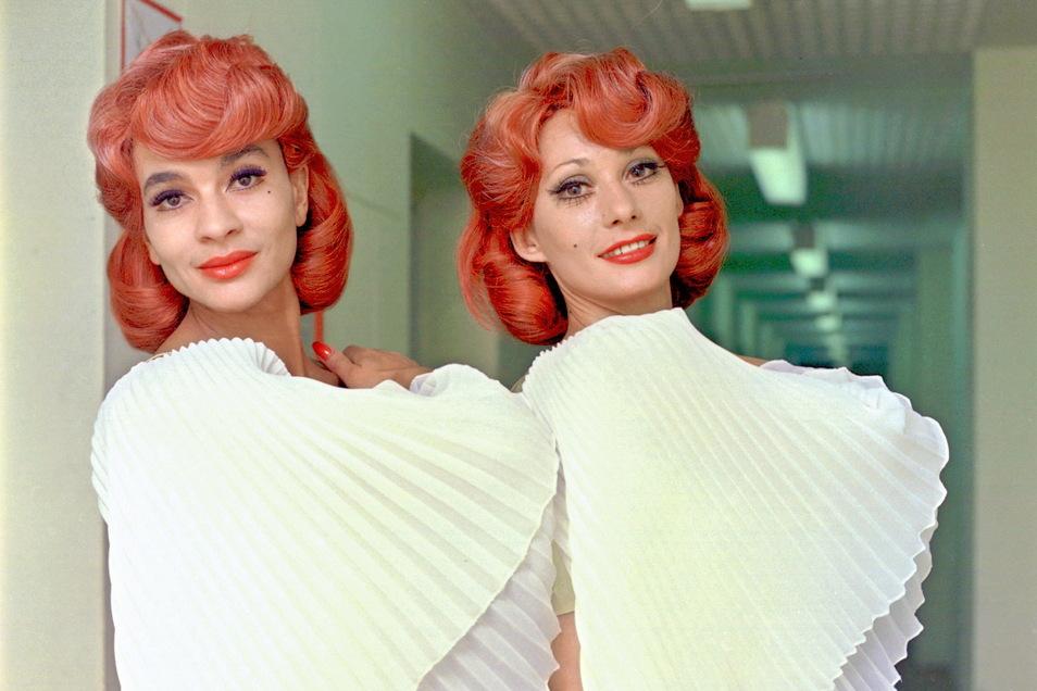 Emöke Pöstenyi (r.) und Susan Baker, das Star- Tanzduo des DDR-Fernsehballetts 1979.