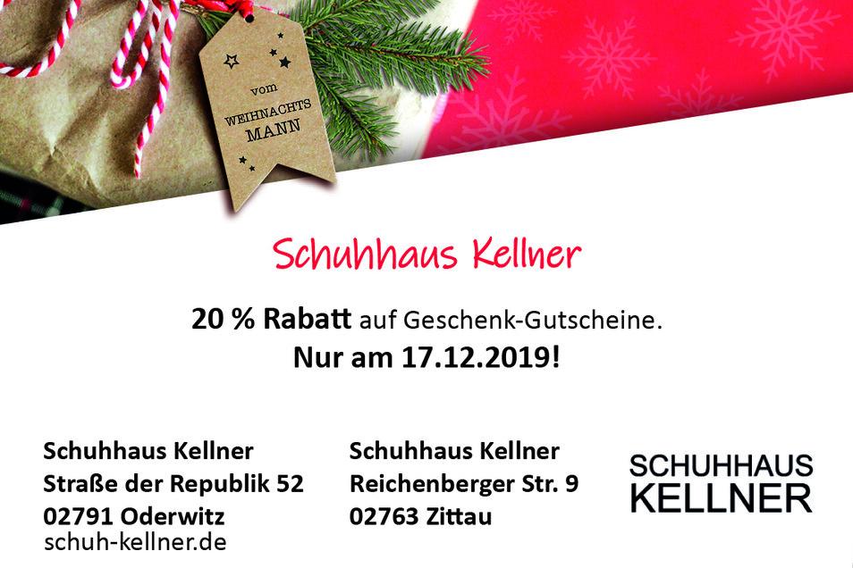 Schuhhaus Kellner,Straße der Republik 52, 02791 Oderwitz
