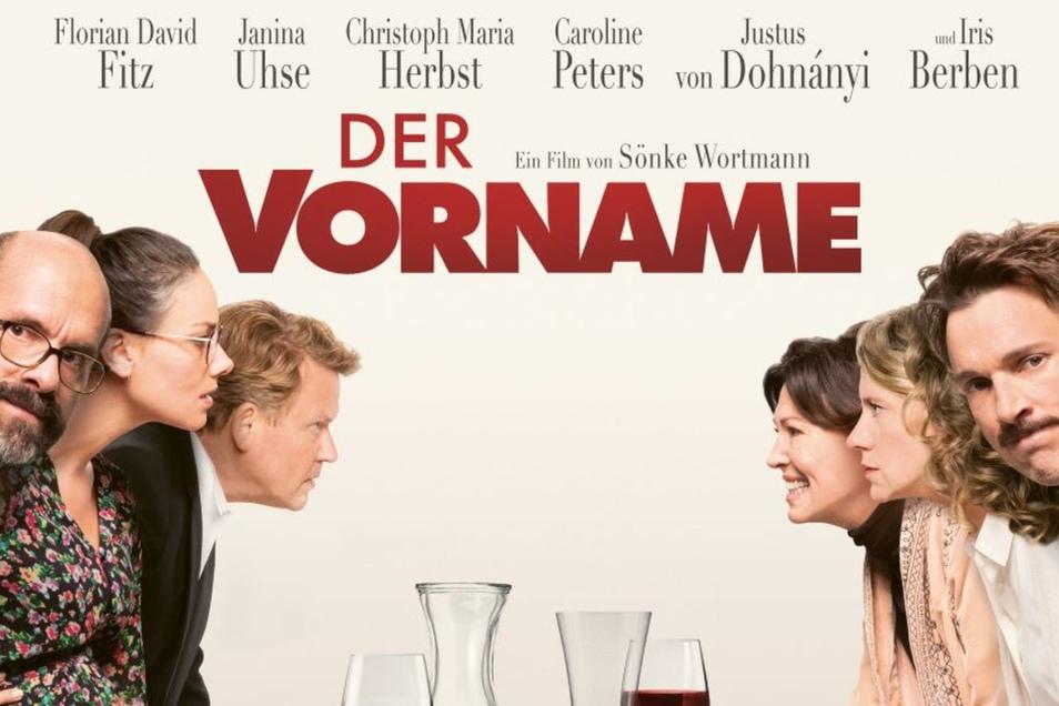 """Das Filmplakat zu """"Der Vorname""""."""