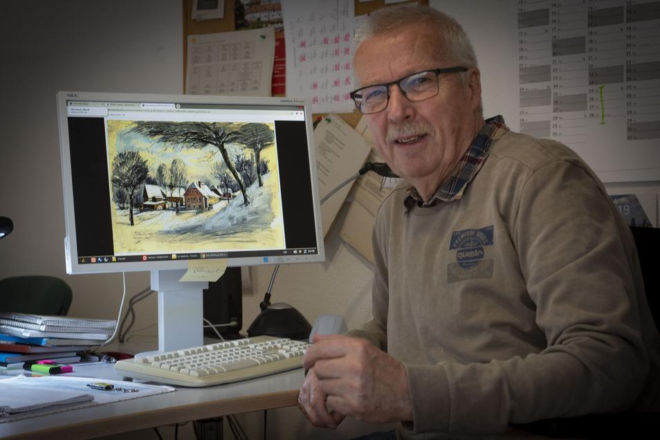 Klaus Schönfuß hat mehr als ein Jahr an dem Projekt gearbeitet. Alles ehrenamtlich. Jetzt sind gut 600 Bilder, darunter mehr als 300 Stadtansichten von Radeberg, auf Wikimedia abrufbar.
