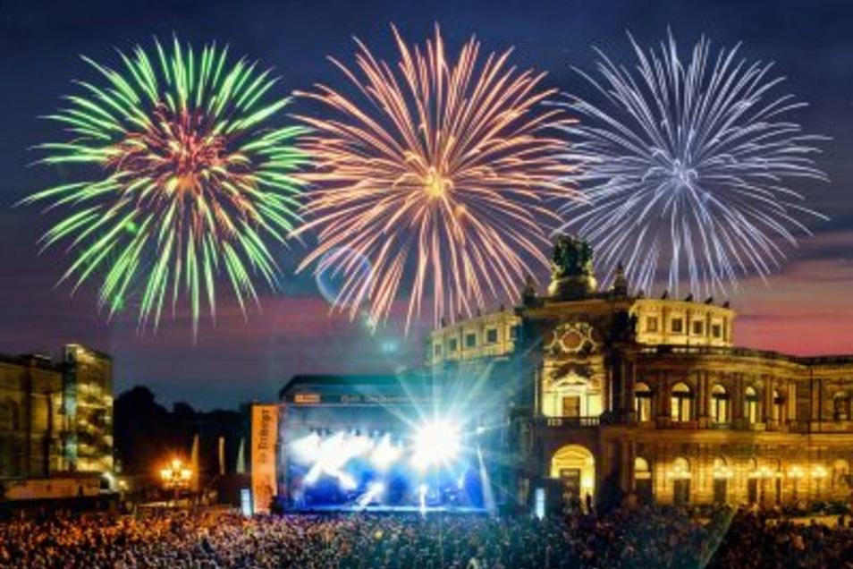 Das Dresdner Stadtfest wird von Freitag bis Sonntag von Zehntausenden gefeiert.