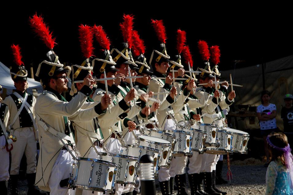 Die Radeberger Spielleute gehören zu den besten Ensembles in Sachsen und darüber hinaus. Erst im vergangenen Sommer holten sie zum fünften Mal in Folge den sächsischen Meistertitel.