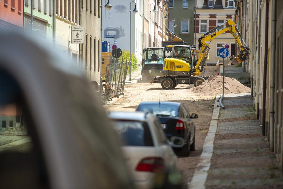 Derzeit wird in der Annenstraße noch am Kanal gebaut. Nun ist vom Freistaat Geld für den grundhaften Ausbau der Straße bewilligt worden. Die Arbeiten könnten im September beginnen.