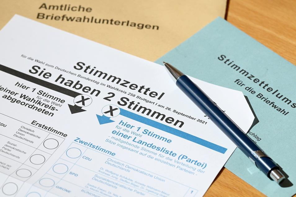 Bei der Bundestagswahl zeichnet sich ein Rekord bei den Briefwählern ab.