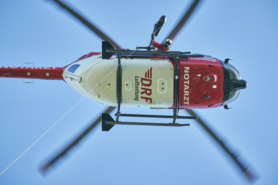 Der in Bautzen stationierte Hubschrauber Christoph 62 der DRF Luftrettung leistete im vergangenen Jahr insgesamt 1.527 Einsätze.