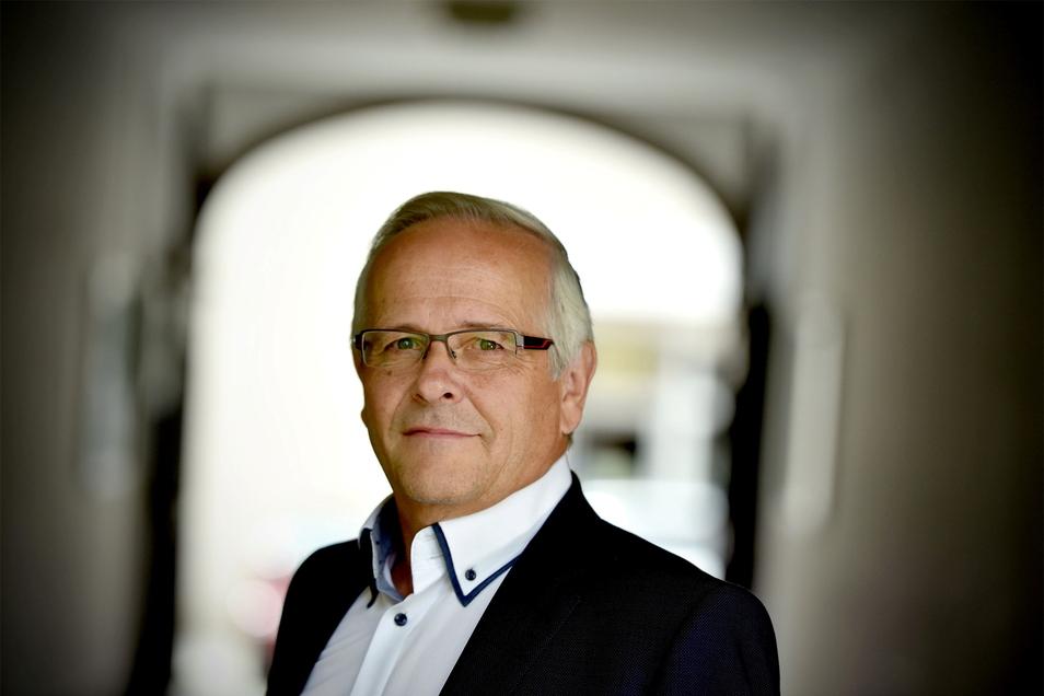 FDP-Kandidat Hans Grüner aus Zittau.