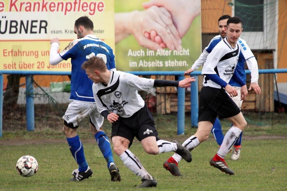 DJK Blau-Weiß Wittichenau gegen SV Königsbrück/Laußnitz