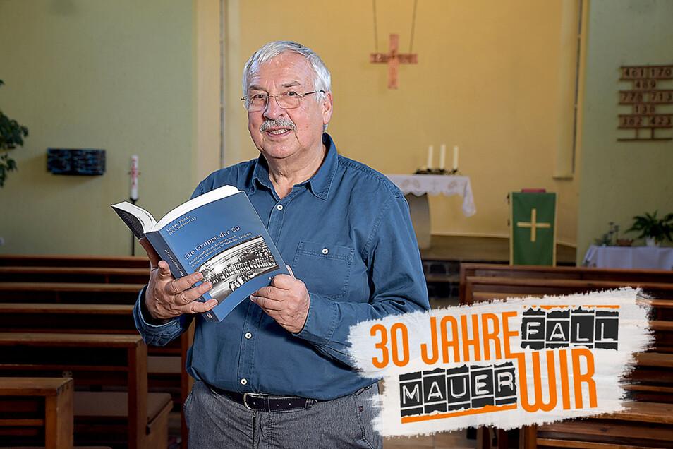Seit 1997 lebt der katholische Pfarrer Andreas Leuschner in Leisnig. Mit 68 Jahren gibt er immer noch Religionsunterricht. Solange es ihm gesundheitlich gut geht, werde er als Pfarrer auch weiter im Dienst bleiben.