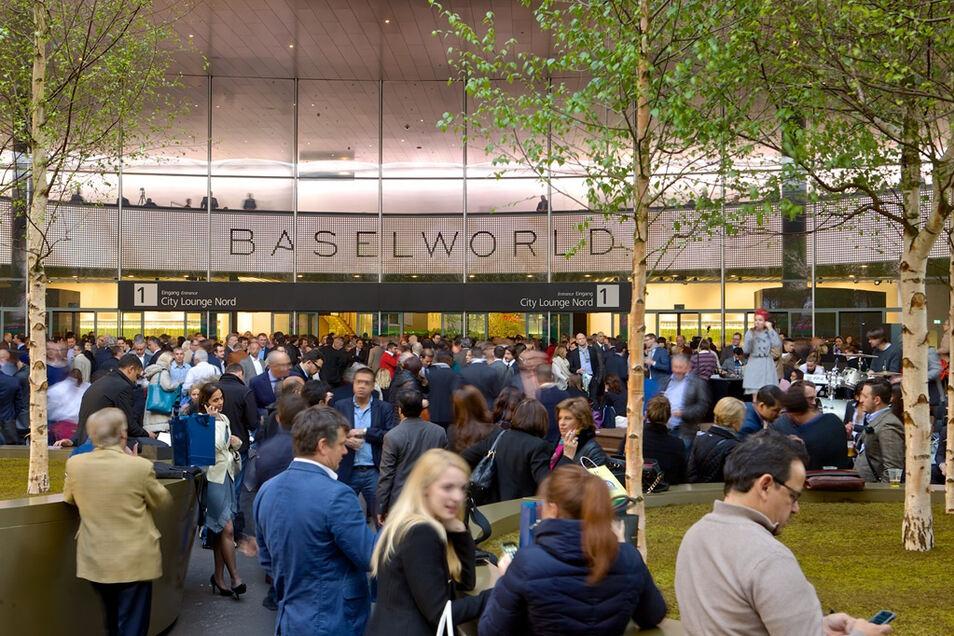 Die Baselworld gilt weltweit als die größte Uhrenmesse.