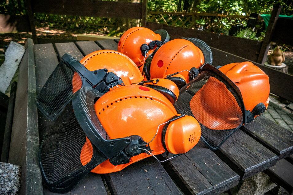 Die Sicherheit der Forstarbeiter geht vor. Rund 5.000 Unfälle werden jedes Jahr bei Waldarbeiten aufgenommen. Einige wären wahrscheinlich zu vermeiden gewesen.