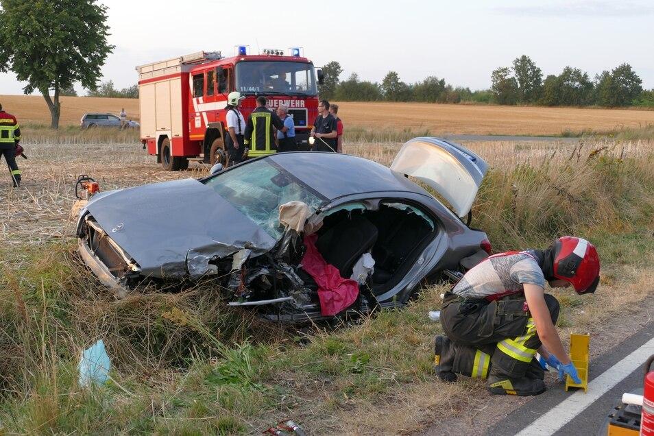 Feuerwehrleute aus Leisnig und der Ortswehren Wiesenthal, Clennen sowie Naunhof-Beiersdorf wurden bei der Rettung hinzugezogen, später auch die Feuerwehrleute aus Hartha.