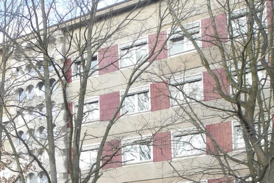 Asylbewerberheim in der Thomas-Müntzer-Straße in Hoyerswerda