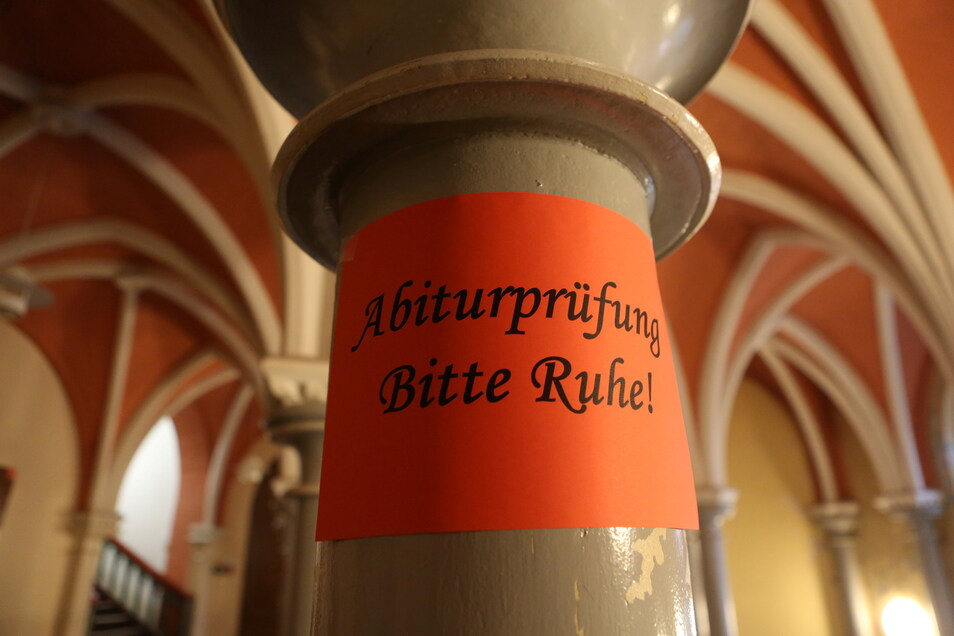 Auch in diesem Schuljahr fanden in Sachsen trotz Pandemie reguläre Abiturprüfungen statt.