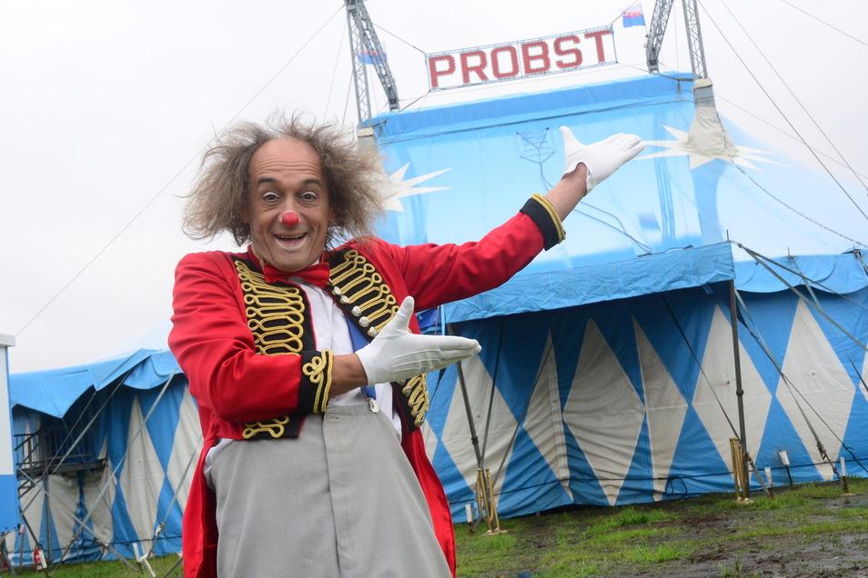 Der Zirkus Probst soll im kommenden Jahr im Rahmen der 800-Jahr-Feier in Neukirch zu Gast sein.