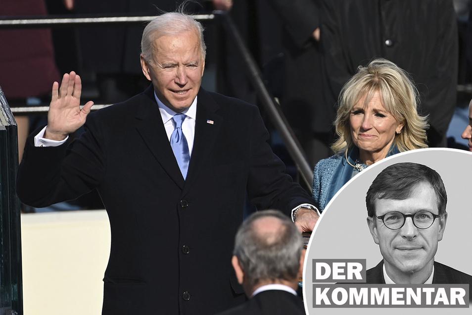 Joe Biden ist als 46. Präsident der Vereinigten Staaten vereidigt worden.