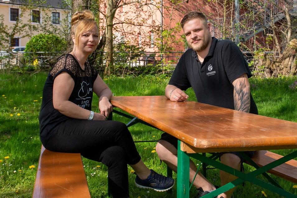 Katrin und Phil Dils von der Alten Wassermühle in Obergurig wollen zum Männertag ein paar Sitzplätze zur Verfügung stellen sowie Getränke und Essen to go anbieten.